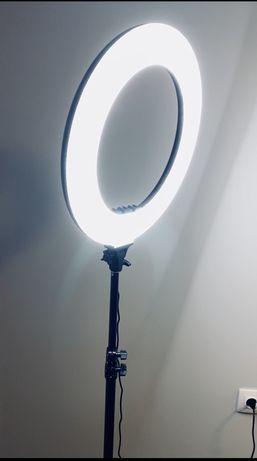 Ринг лампа Гримьорска лампа 18 инча 46см ВИСОКО КАЧЕСТВО