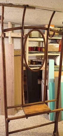 Cuier vintage cu oglinda