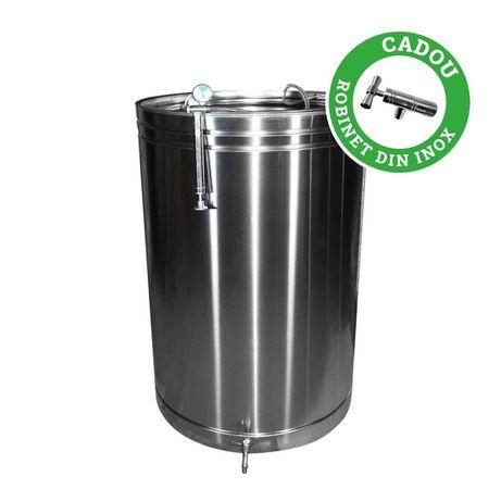 Cisterna din INOX cu capac flotant 519 L , CADOU ROBINET din INOX
