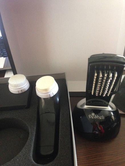 Апарат за масаж на коса и лице