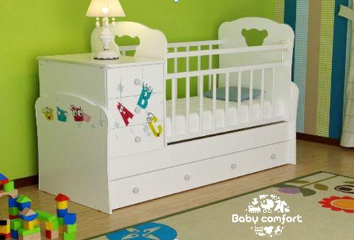 РАСПРОДАЖА! Кроватка для новорожденных,манеж Россия +доставка