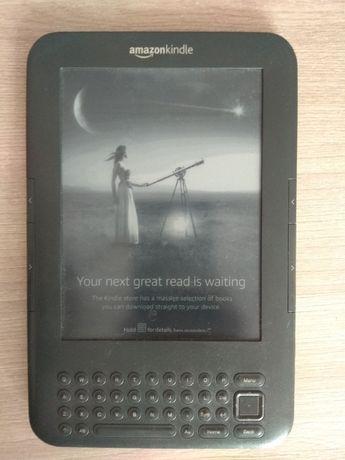 Продам Kindle 3 с клавиатурой
