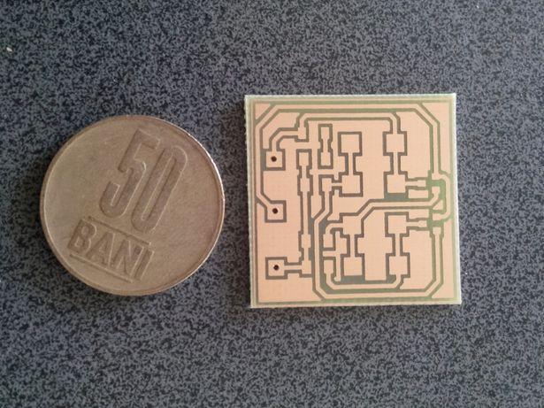 Realizare cablaje imprimate electronice de calitate in regim home made