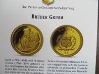 Moneda aur 585 (14 karate), Fratii Grimm 0,5 grame