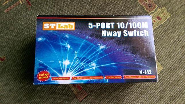 Switch 5 porturi ST LAB N-142