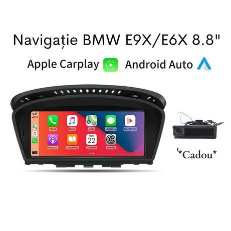 Navigatie Android Auto / Apple CarPlay BMW E90 E91 E92 E93 E60 E61 GPS