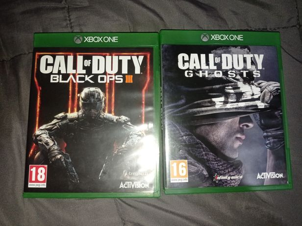 Call of Duty Black OPS 3 si Call of Duty GHOST xbox one