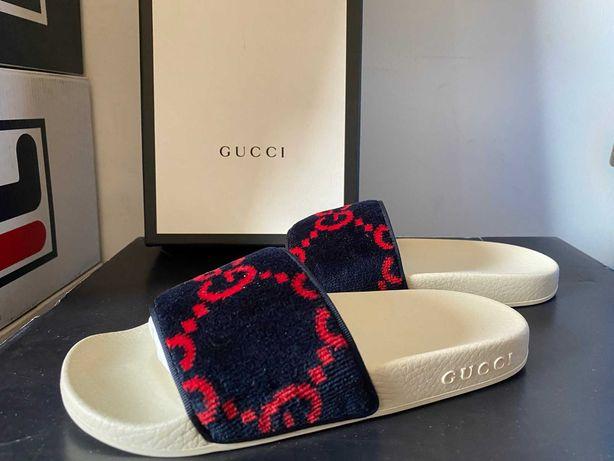 Papuci Gucci Velvet GG Spong (NOI)