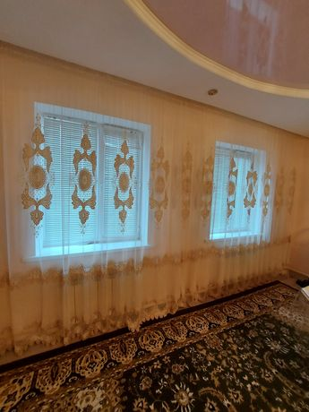 Занавески в гостевой комнат 8 метр
