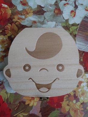 Кутия за млечни зъбки