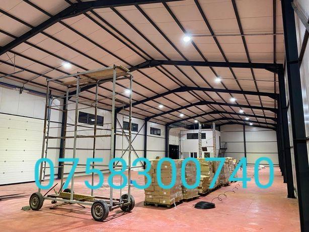Vând hale metalice 14m cu 40m cu 6m