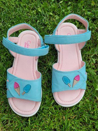 Sandale albastre fetite 29