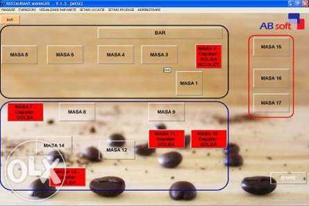 Software si Monitor Touch Screen pt Restaurante - Pensiuni