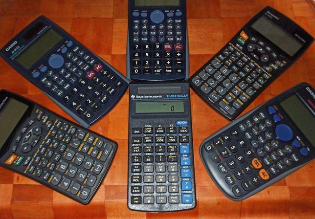 Calculatoare stiintifice cu afisaj LCD mare