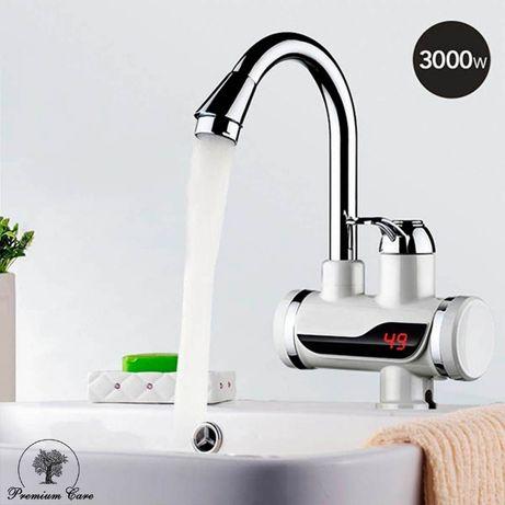 Проточный кран нагреватель для воды