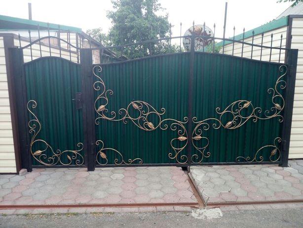 Ворота с профлиста