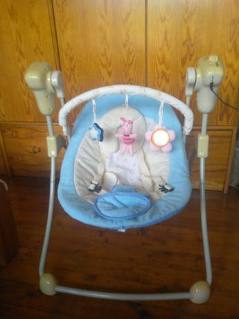 Бебешка музикална люлка