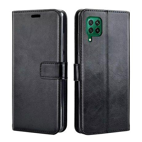 Кожен Калъф Тефтер за Huawei P20 Lite P30 Pro P40 Lite Y6s Y7 2019