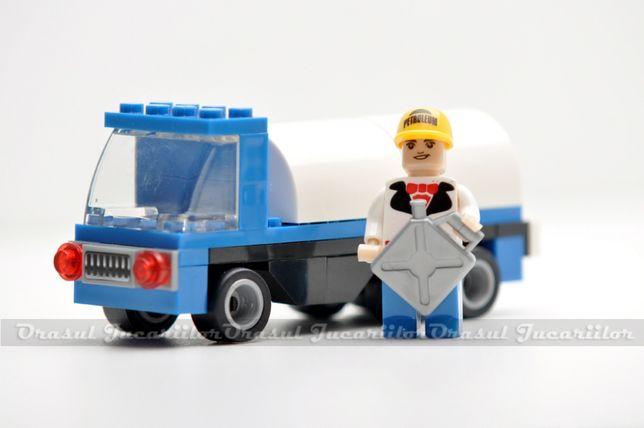 "Set de constructii ""City-Camion cu cisterna"""