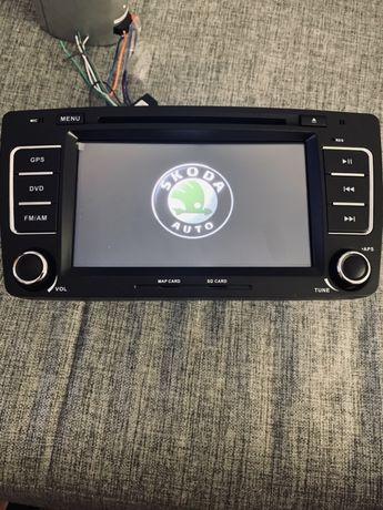 Navigatie Skoda Octavia 2 Android 10 / 2gb ram / Camera / Obd / Pen
