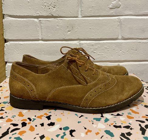Pantofi piele intoarsa de toamna
