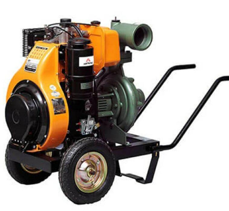 STOC!!! Motopompa ANTOR 820-LY3 diesel/ 17CP Debit 80m3/h, 7.5 bar Viziru - imagine 1