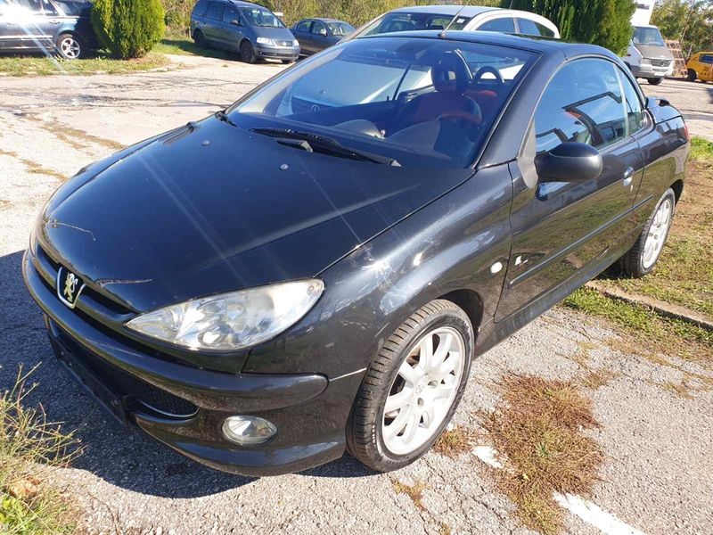 НА ЧАСТИ! Peugeot 206 CC 1.6 16V Кабрио Фейслифт 2004 г. Пежо 206 ЦЦ гр. София - image 1
