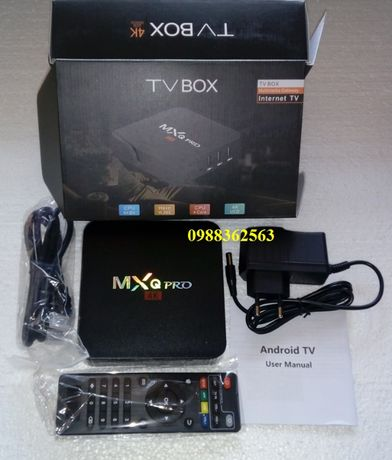 IPTV WiFi Онлайн телевизия Android TV BOX MXQ-PRO IPTV 4GB рам, 64GB р