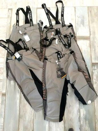 Pantaloni suprapantaloni scurti schi ski antrenament  DAINESE M L noi
