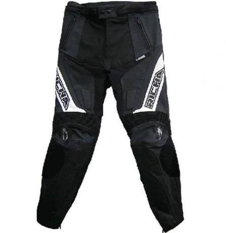 Richa мото кожен панталон s размер 48 кожа пистов мотор нов