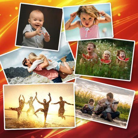 ДЁШЕВО! Распечатка фотографий, рамки, дизайн, обработка и другие услуг