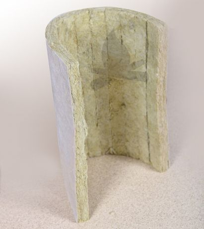 Vata minerala caserata pentru izolatie termica - 432x333x23