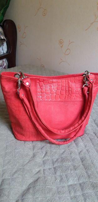 Новая кожаная сумка из Египта! Кожа верблюда!