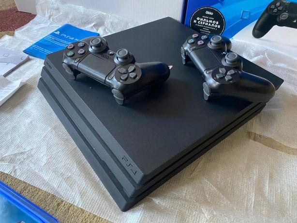Ps 4 PRO (1TB) + 10 игр , 2 джойстика ! Sony playstation Прошка
