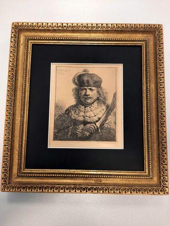 Gravura after Rembrandt Harmensz Van Rijn