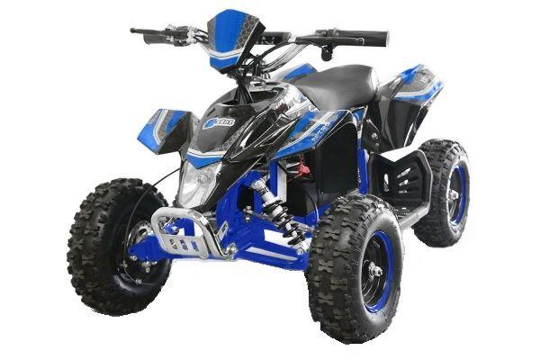 ATV electric Deluxe ECO Maddox 1000W 48V cu 3 Viteze #Albastru