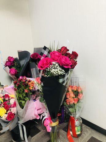 Букет цветов (розы)