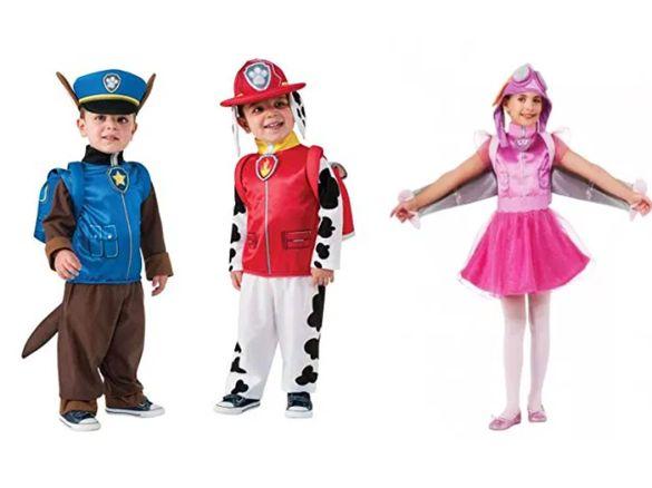 Детски костюми на Пес Патрул,Костюм на Маршал,Костюм на Чейс,Скай