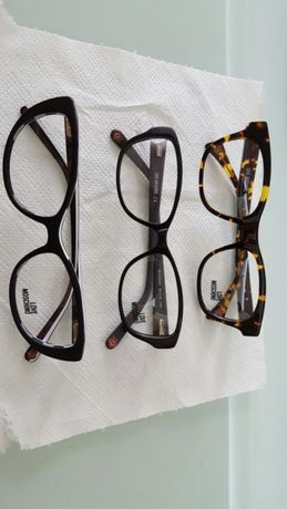 Rame ochelari vedere love moschino noi originali