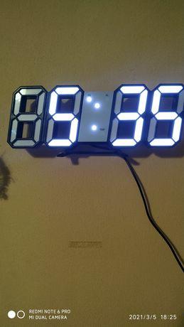 3D часовник  с 3аларми температура