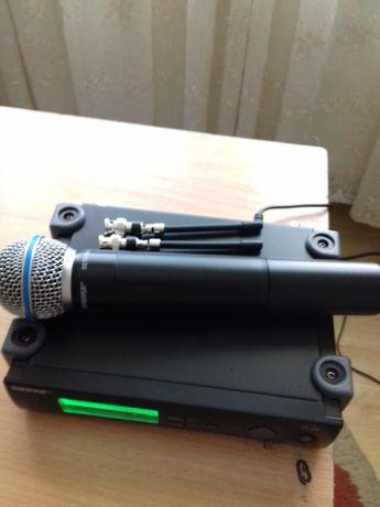Microfon shure beta 58 a USA NOU pentru boxe active PASIVE slx 4 24