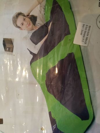 Set saltea gonflabila de dormit/sac confortabil/pompa de umflat