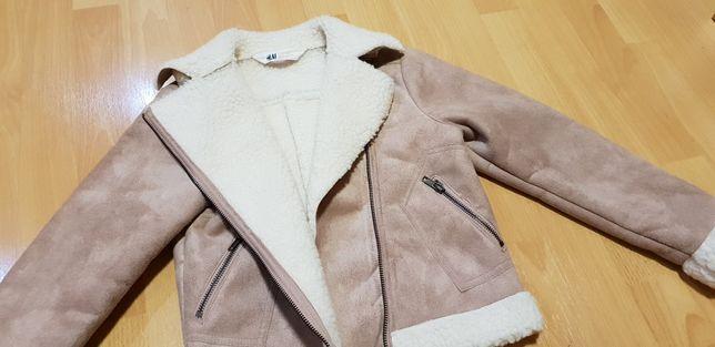 Jachetă fata, H&M, 8-9 ani