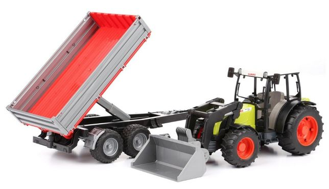 Jucarii Bruder 02112 - Tractor Claas Nectis 267F cu incarcator frontal