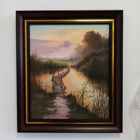 Tablou pictura ulei panza canvas
