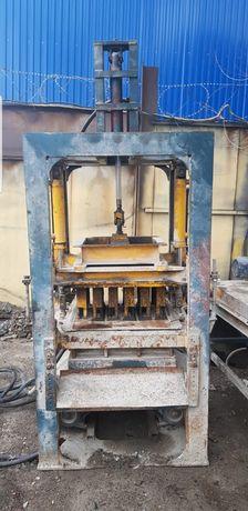 Станок вибропресс сплитерный полу автомат