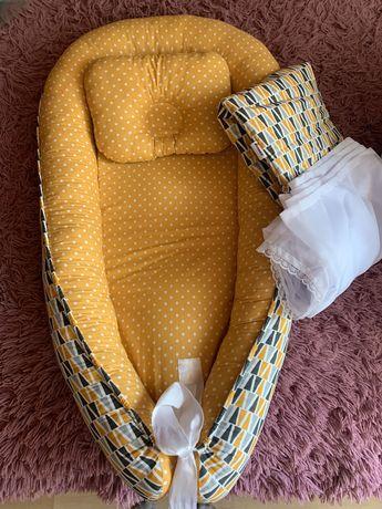 Продам спальный кокон для новорожденных
