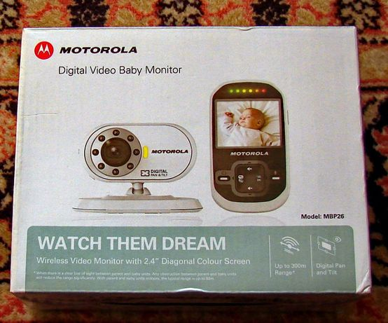 Camera supraveghere bebelus Motorola MBP26