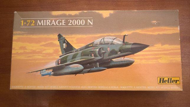 Macheta modelism, kit de construit Heller 1/72 Mirage 2000N