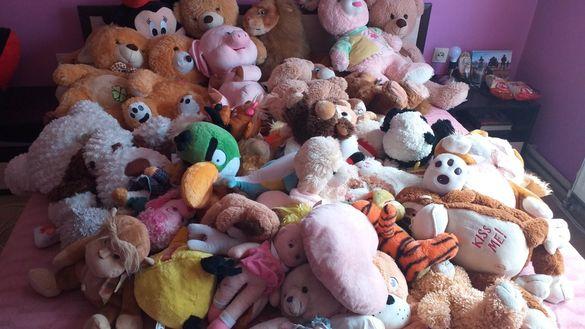 Безброй плюшени играчки